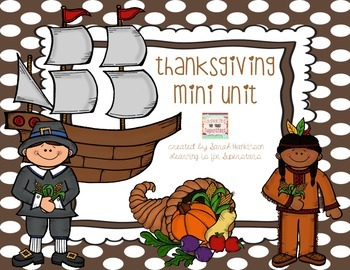Thanksgiving Mini Unit {freebie}