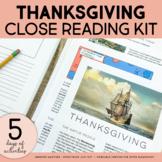 Thanksgiving Activities   Thanksgiving Writing   Thanksgiving Mini-unit