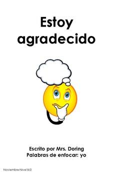 Thanksgiving Minibooks SPANISH {Leveled Readers}