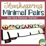 Thanksgiving Minimal Pairs