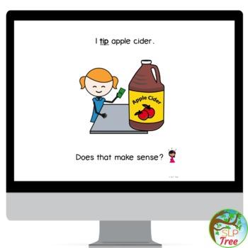 Thanksgiving Stopping Minimal Pairs Interactive Book