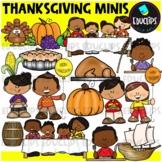 Thanksgiving Minis Clip Art Set {Educlips Clipart}