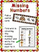 Missing Numbers Thanksgiving Math Center