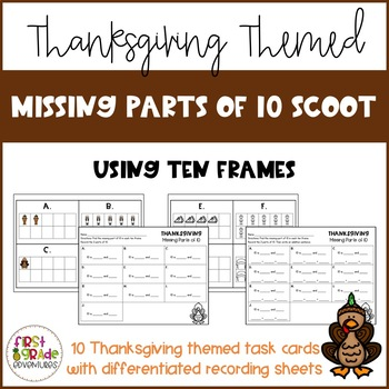 Thanksgiving Missing Parts of 10 Scoot
