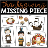 Thanksgiving Missing Pieces Task Box | Task Boxes for Special Education