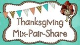 Thanksgiving Mix Pair Share PowerPoint Presentation