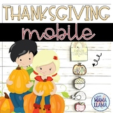 Thanksgiving Mobile Activity