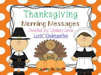 Thanksgiving - Morning Messages