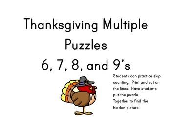 Thanksgiving Multiples