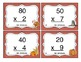 Thanksgiving Multiplication (1 Digit x Multiples of Ten CCSS 3.NBT.3) Task Cards