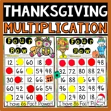 Thanksgiving Multiplication Games