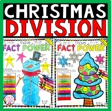 Christmas Division Color by Number