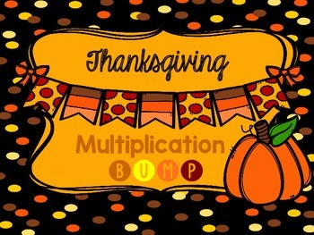 Thanksgiving Multiplication BUMP Game