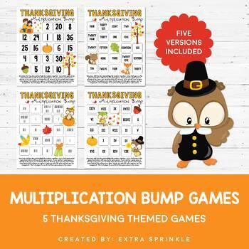Thanksgiving Multiplication Bump Games