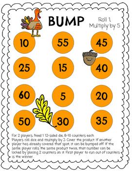 Thanksgiving Multiplication Bump (x5)