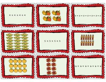 Thanksgiving Multiplication War (Common Core Aligned)