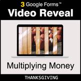 Thanksgiving: Multiplying Money - Google Forms Math Game |