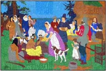 Thanksgiving Mural