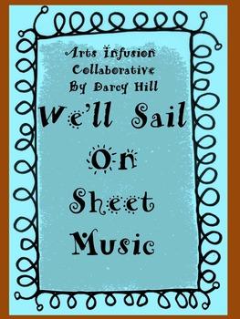 Thanksgiving Music- We'll Sail On Sheet Music