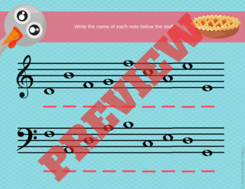 Thanksgiving Music Activities - Music Theory
