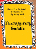 Thanksgiving Music Bundle: Sheet Music & mp4 Files for 3 Songs, & Little Graces