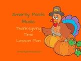 Thanksgiving Music Circle Lesson Plan