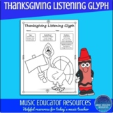 Thanksgiving Listening Glyph