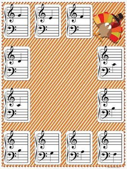 Thanksgiving Music Game Bundle Vol. 1: four games, zero prep!