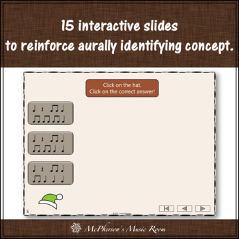 Thanksgiving Music Game Eighth Notes {Interactive Rhythm Game Build a Turkey}