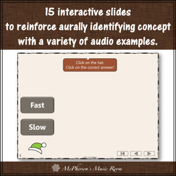 Thanksgiving Music Game Fast Slow {Interactive Music Game Build a Turkey}