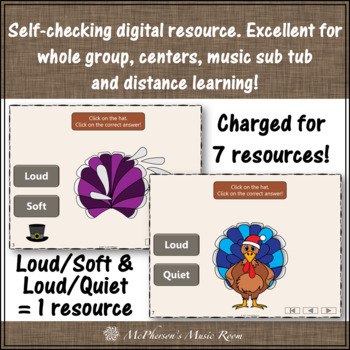 Thanksgiving Music Games Opposites and Comparatives {Build a Turkey Bundle}