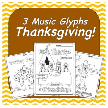 Thanksgiving Music Glyphs
