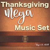 Thanksgiving Music: MEGA Set of Songs and Games