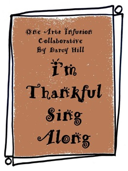 I'm Thankful:Thanksgiving Music Sing Along mp4 File
