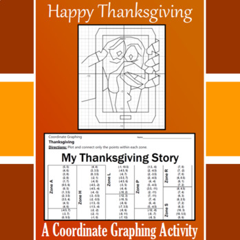 Thanksgiving - My Thanksgiving Story - A Coordinate Graphi