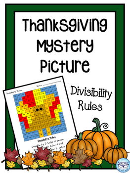 Thanksgiving Mystery Picture
