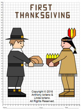 First Thanksgiving Mystery Picture