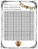 Thanksgiving Mystery Picture-Subtractions within 100 (regrouping)