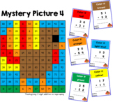 Thanksgiving Mystery Pictures: 2 Digit Addition (No Regrouping)