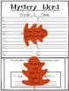 Thanksgiving Mystery Word Literacy Activity: Nursery Crimes by Arthur Geisert