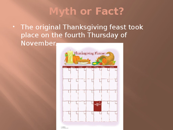 Thanksgiving Mythbusters Activity:  Lies My Teacher Told Me