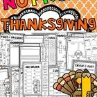 Thanksgiving Activities (No Prep November Worksheets and Writing Activities)