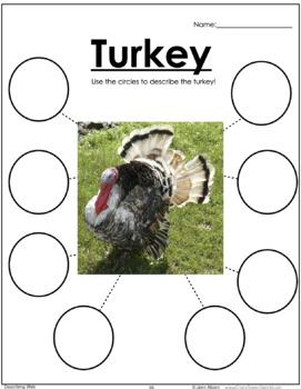 Thanksgiving NO PREP Speech & Language Activities