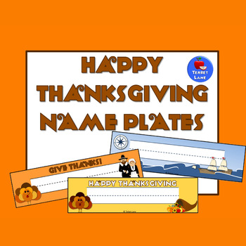 Thanksgiving Name Plates