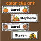 Thanksgiving Name Tags Editable