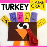 Turkey Craft | Thanksgiving Name Craft