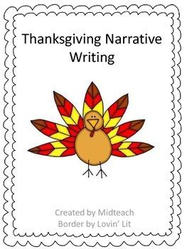 Thanksgiving Narrative Writing