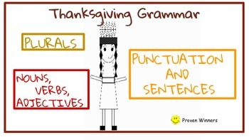 Thanksgiving Native American Grammar/Language,Conventions, Punctuation