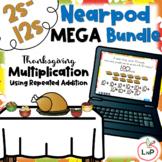 Thanksgiving Nearpod Bundle Multiplication Math Centers Us