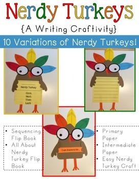 Thanksgiving Nerdy Turkey
